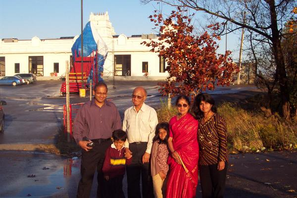 Temple in Toronto for Dad's 70th Birthday