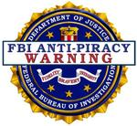FBI Anti-piracy logo
