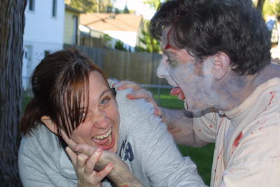 Lisa helped us zombify, which led to her demise.<br />