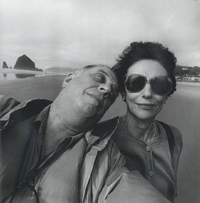 Lee and Maria Friedlander. Cannon Beach, Oregon